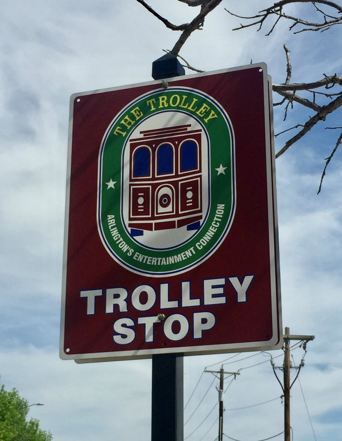 Arlington Texas trolley