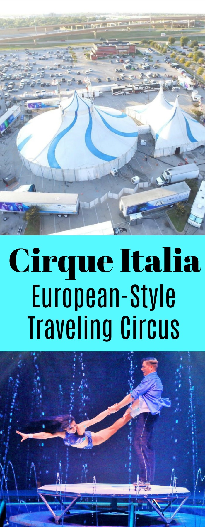 Cirque Italia European Style Traveling Circus