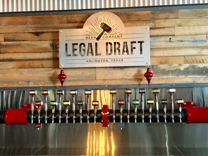 Arlington Texas Legal Draft Brewery