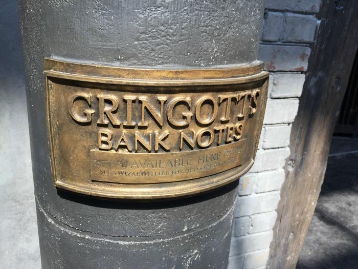 Gringott's Bank Notes