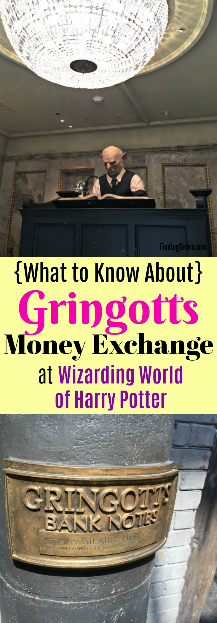 Gringotts Money Exchange - what to know about this unique experience at Universal Studios Orlando in the Wizarding World of Harry Potter (Diagon Alley)