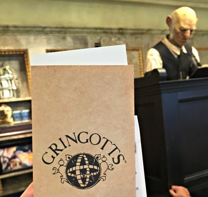 Gringott's Money Exchange