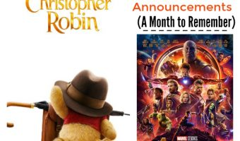 Disney Movie Announcements: A Month to Remember!