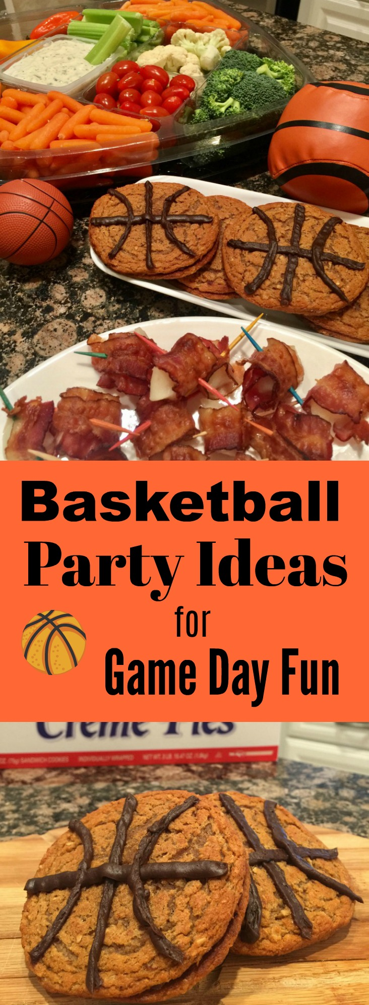 Basketball party ideas for game day fun - tourney time! From food to crafts, the best party ideas!