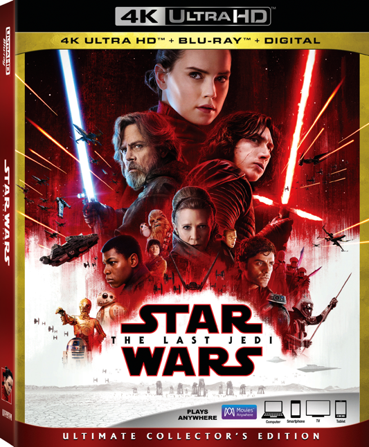 The Last Jedi BluRay