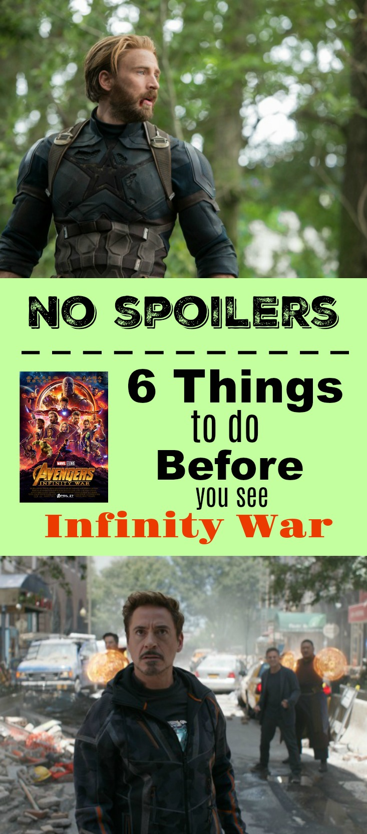 6 things to do before you see Avengers Infinity War