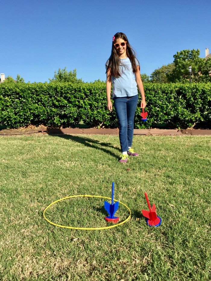 Backyard Activities for Kids - lawn darts