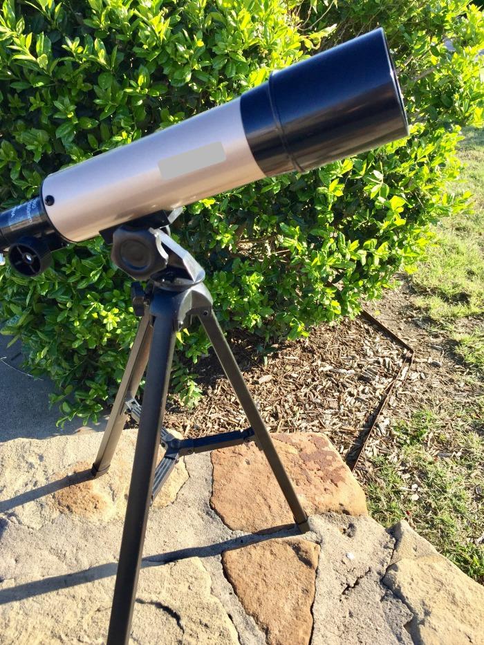 Backyard Activities for Kids - telescope