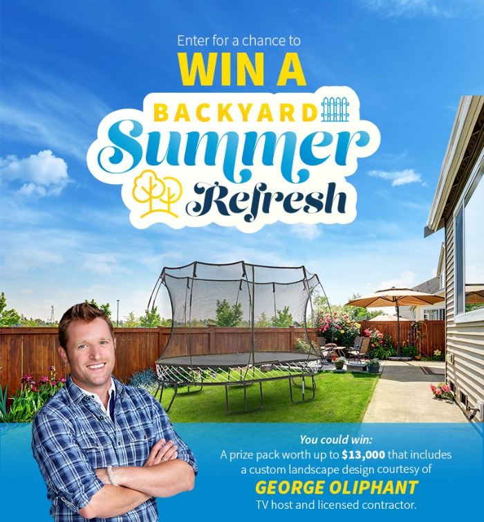 Backyard Refresh contest