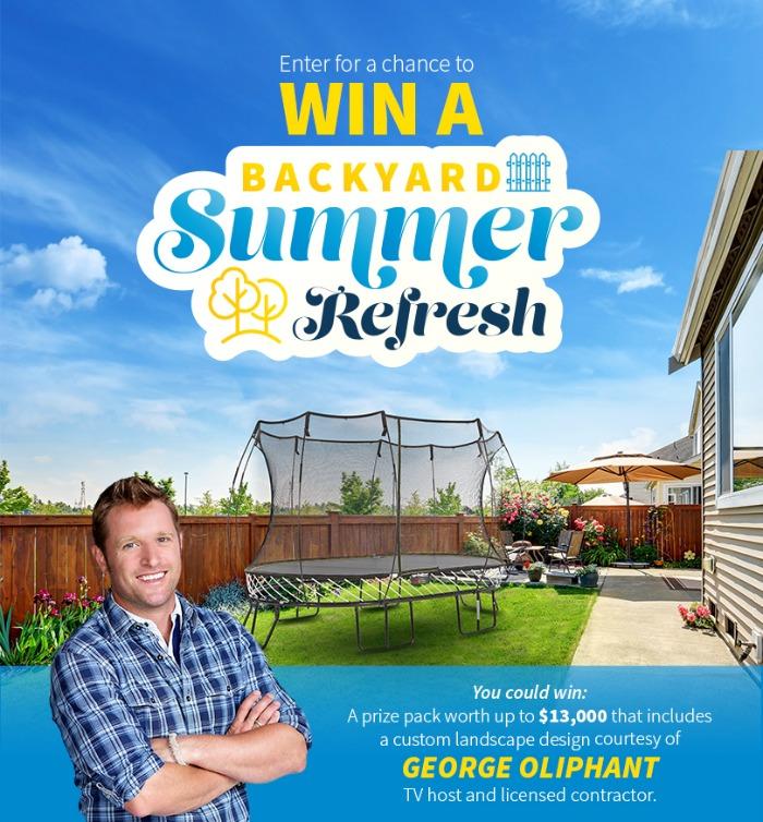 Backyard Refresh contest