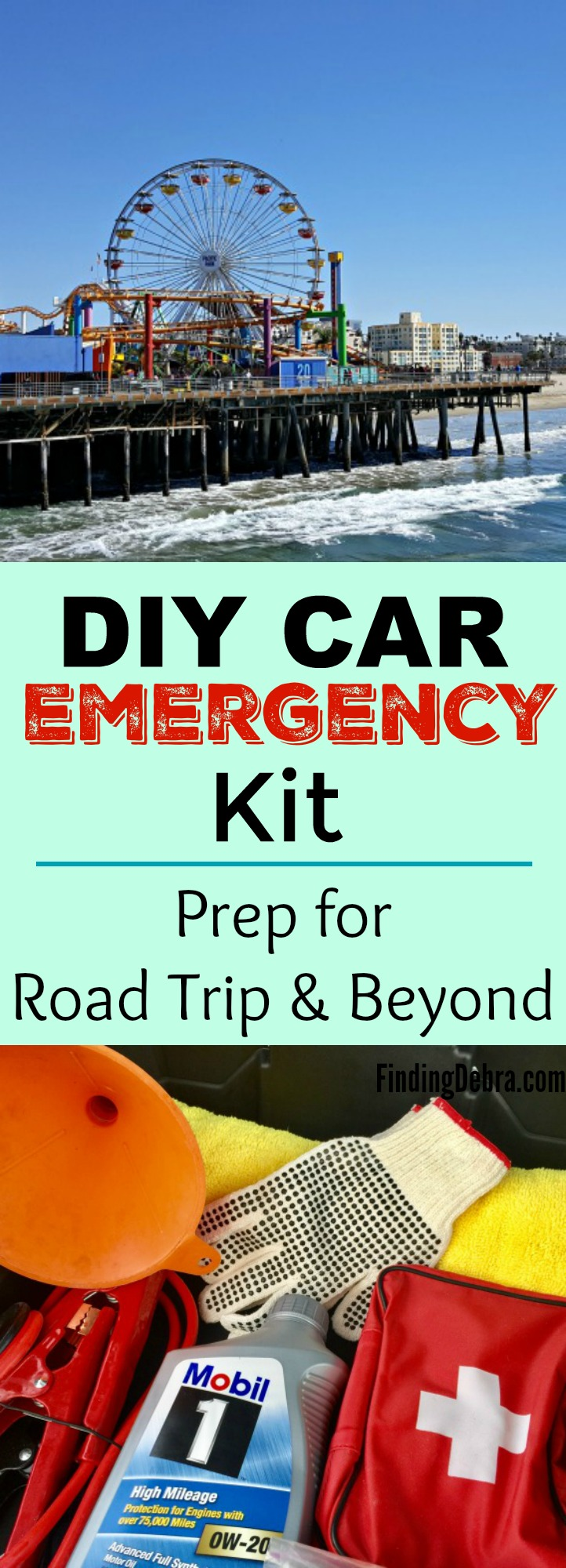 DIY Car Emergency Kit - Prep for Road Trip and Beyond