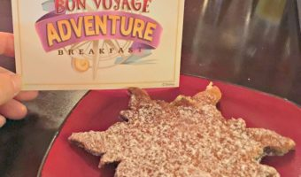 Disney Bon Voyage Adventure Breakfast Character Meal