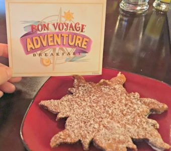 Our Disney Bon Voyage Adventure Breakfast Character Meal Experience