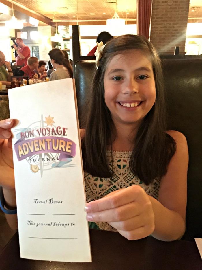 Disney Bon Voyage Adventure Breakfast Journal