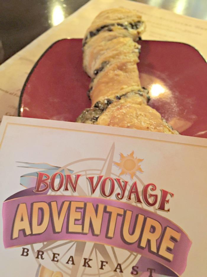 Disney Bon Voyage Adventure Breakfast Character Meal