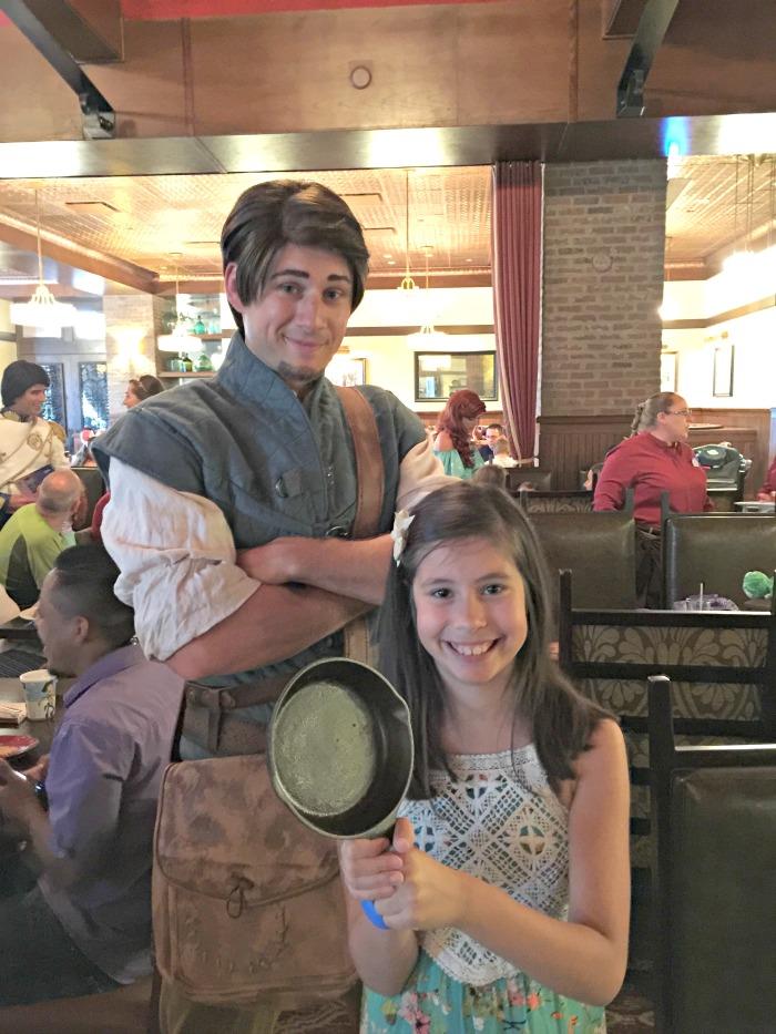 Disney Bon Voyage Adventure Breakfast Flynn