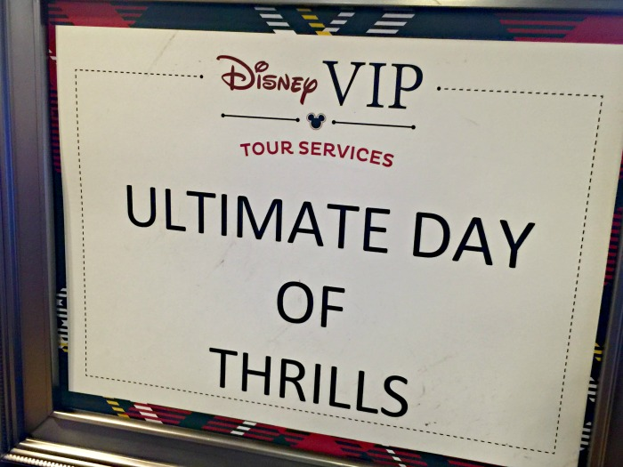 Disney VIP Tour Services Ultimate Day of Thrills