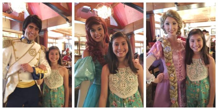 Disney Bon Voyage Adventure Breakfast characters