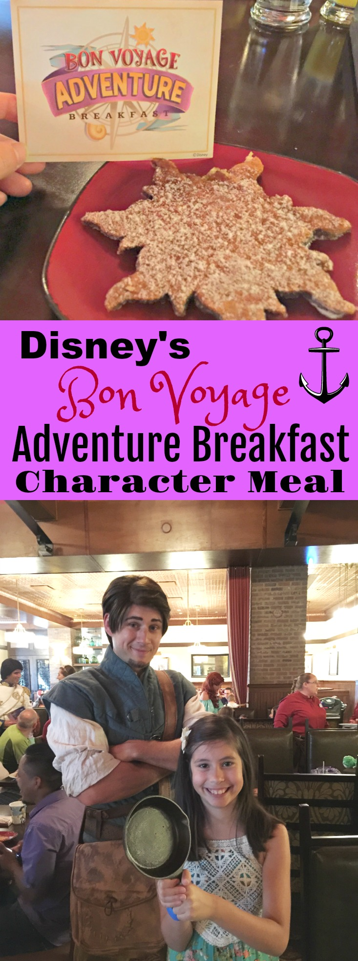 Disney's Bon Voyage Adventure Breakfast Character Meal - Our vacation experience and all the tips you need to know before you go to Disney World.
