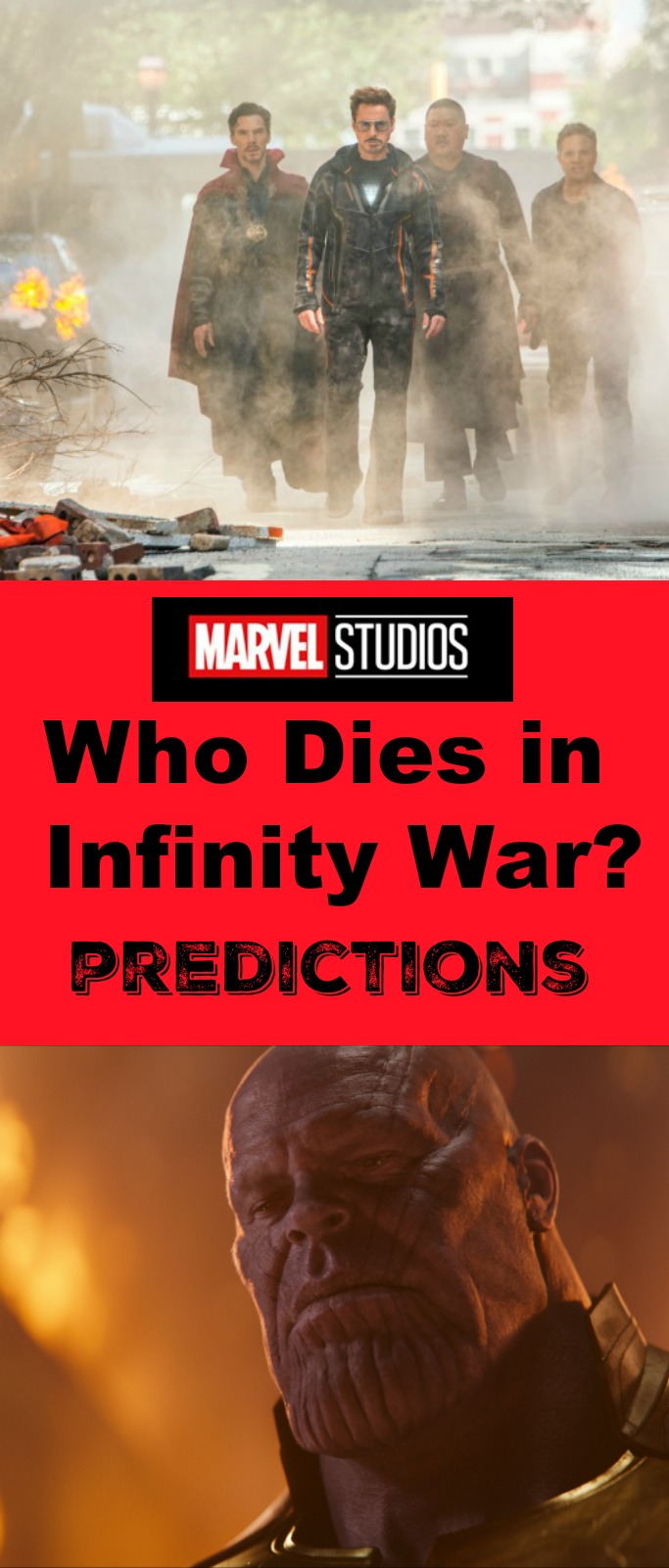 Who dies in Infinity War? Predictions about the latest Marvel Avengers movie!