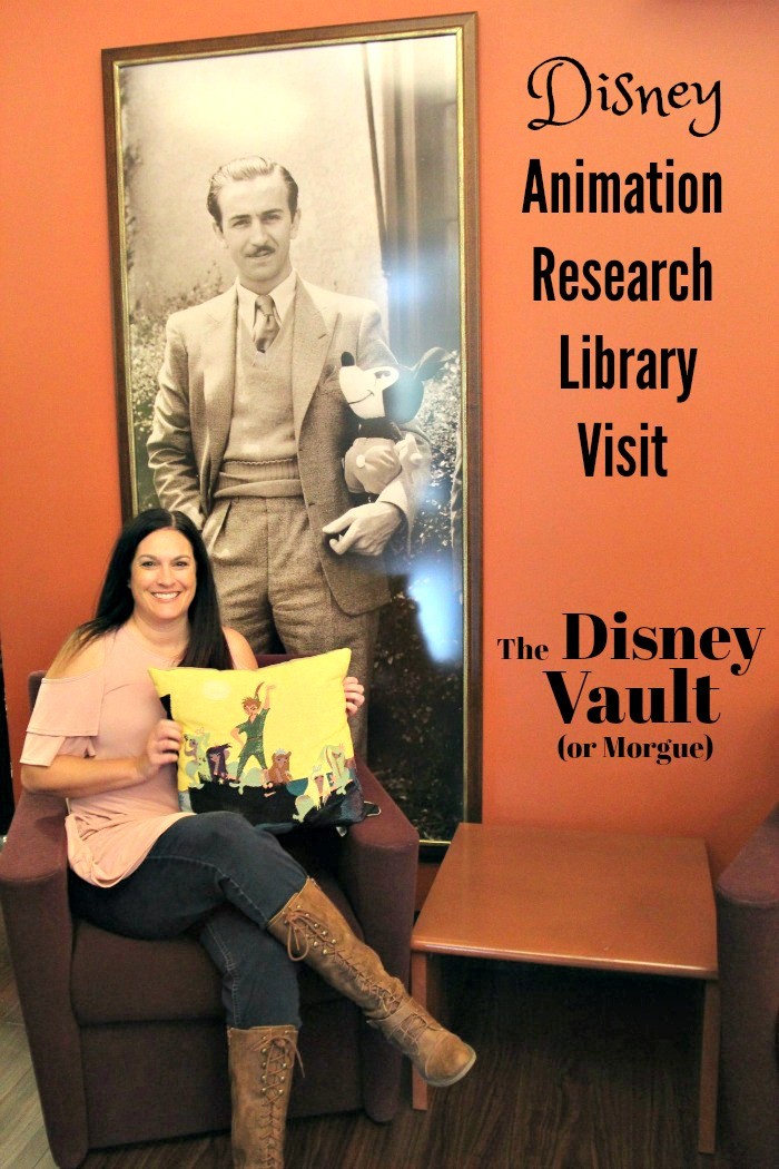 Disney Animation Research Library Visit - aka Disney vault or Disney morgue