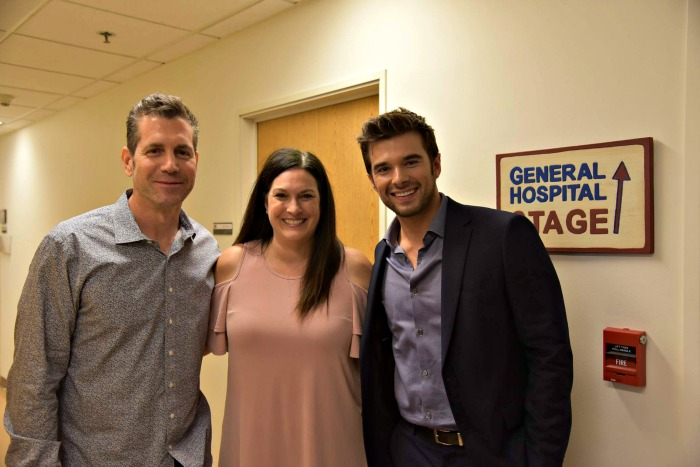 General Hospital set visit - meeting Frank Valentini, and Joshua Swickard