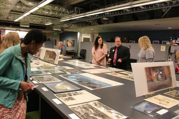 Disney Animation Research Library Fox Carney and Debra Muccio