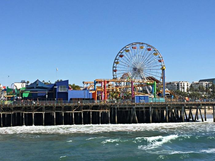 Alden Ehrenreich Santa Monica Pier