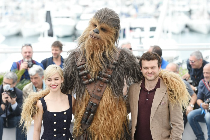 Chewbacca at Cannes SOLO premiere