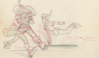 Disney Animation Research Library - Peter Pan model sheets