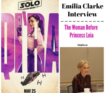 Emilia Clarke Interview – The Woman Before Princess Leia