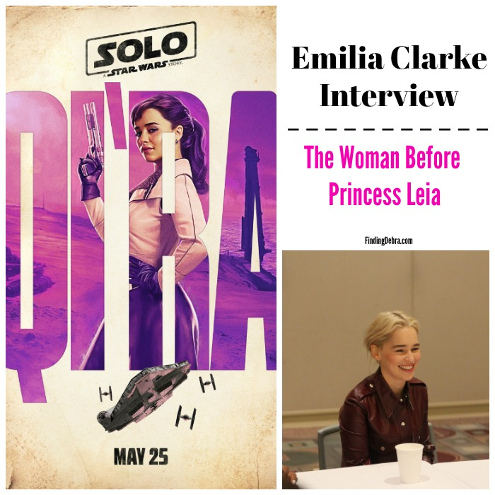 Emilia Clarke interview - the woman before Princess Leia