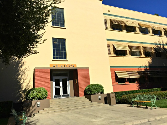 Old Animation Building Walt Disney Studios lot