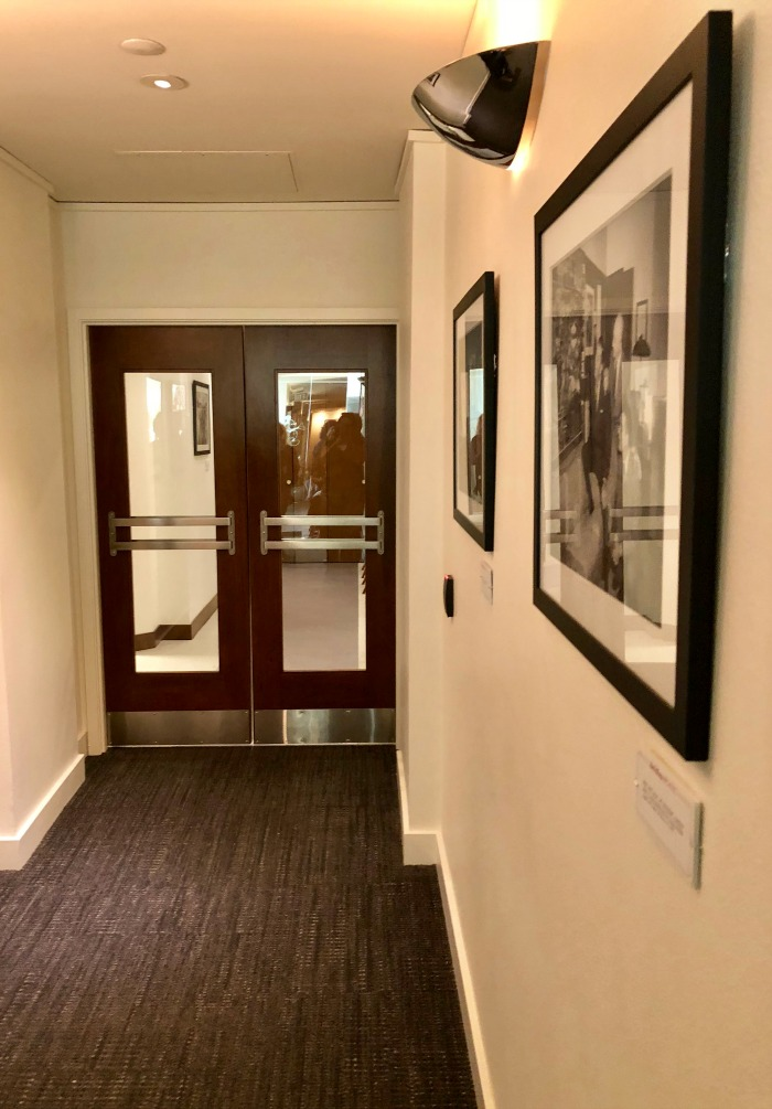 Walt Disney's Office - doors from hallway