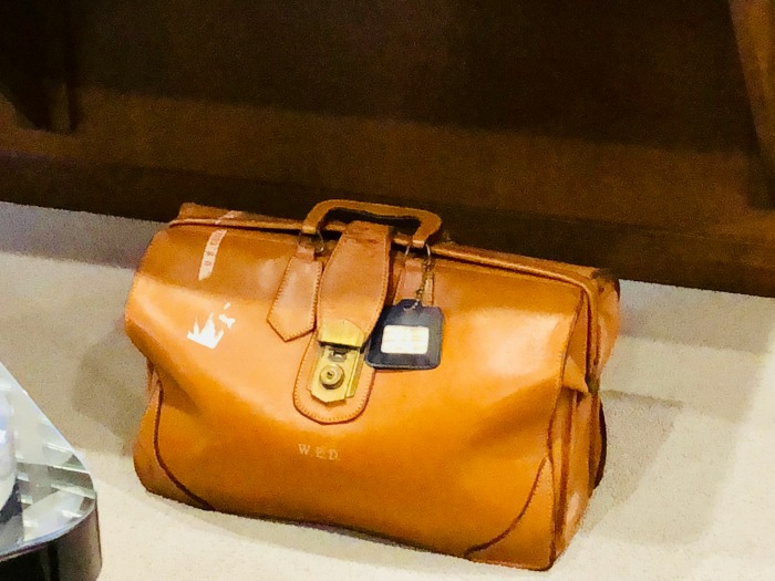 Walt Disneys briefcase
