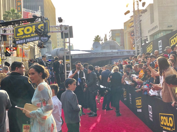 World Premiere of Solo A Star Wars Story