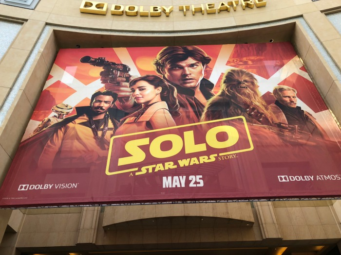 SOLO World Premiere - Dolby Theatre Hollywood