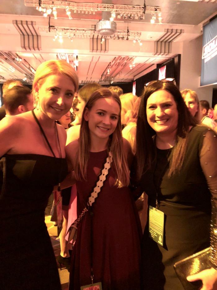 Solo Premiere Britt Robertson with Debra Muccio and Shelby Barone