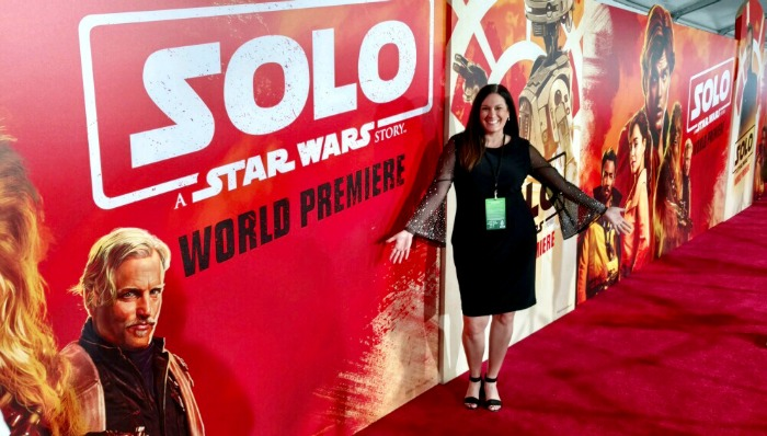 Solo Premiere - my red carpet experience