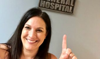 General Hospital set visit - DIsney bloggers