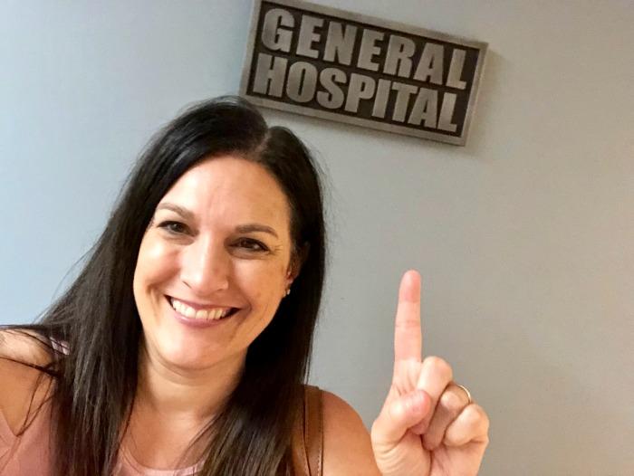 General Hospital set visit - DIsney bloggers