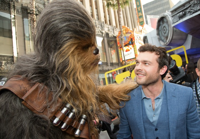 Solo premiere - Han and Chewie