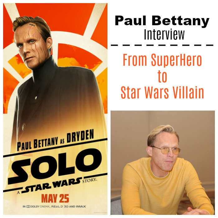 Paul Bettany Interview - from superhero to Star Wars villain