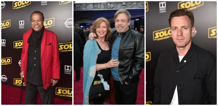 Solo Premiere - Original Star Wars stars attend