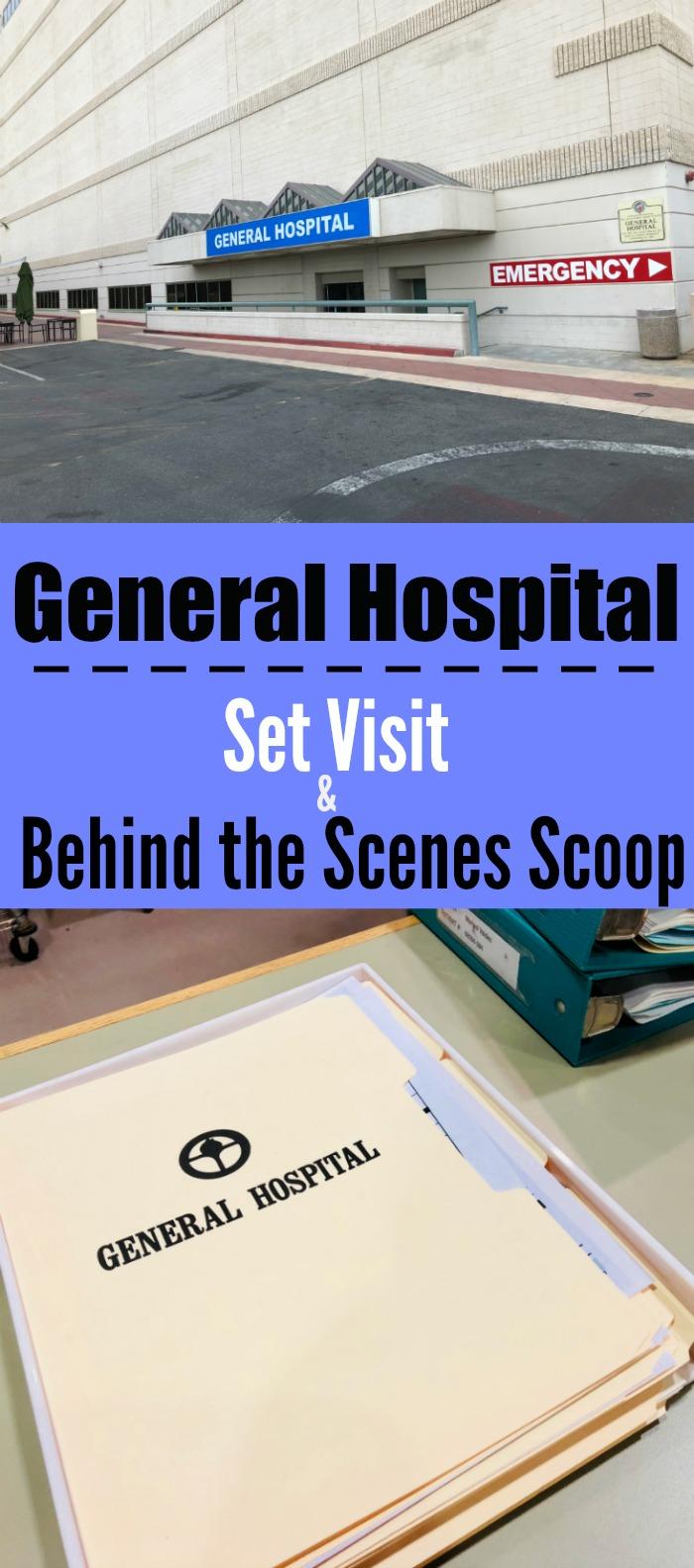 General Hospital Set Visit and Behind the Scenes Scoop