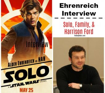 Alden Ehrenreich on SOLO, Family, and Harrison Ford