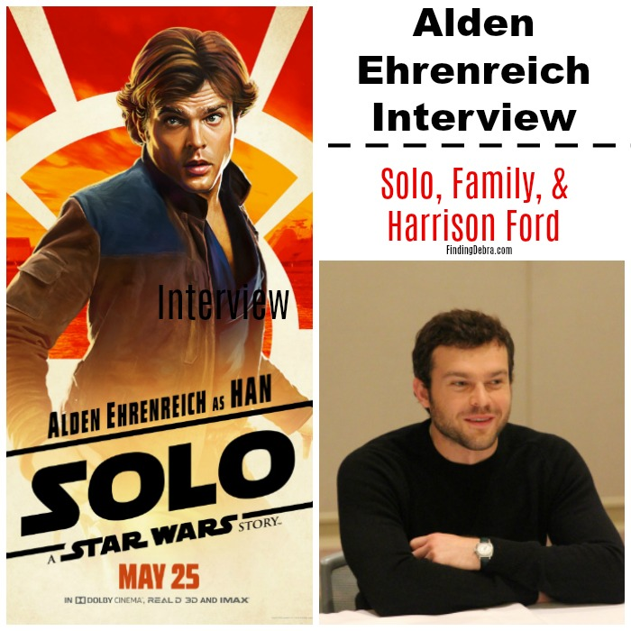 Alden Ehrenreich interview - Solo Family and Harrison Ford
