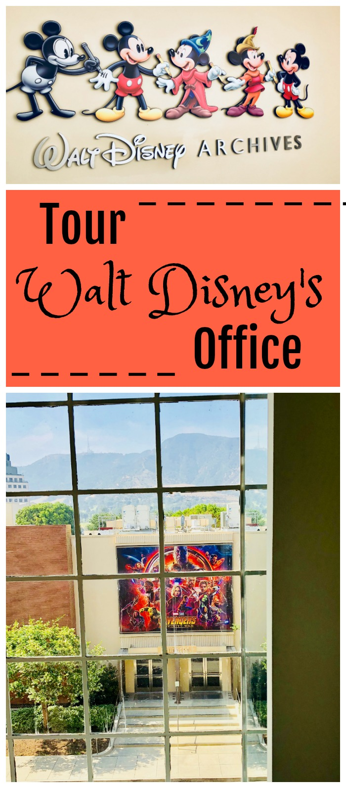 Tour Walt Disney's Office