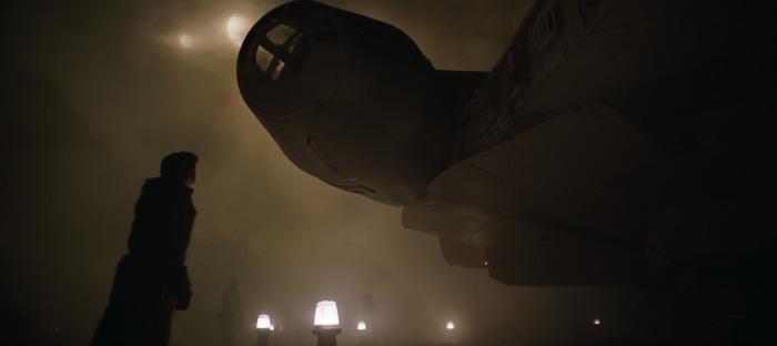 SOLO - Han and Millenium Falcon