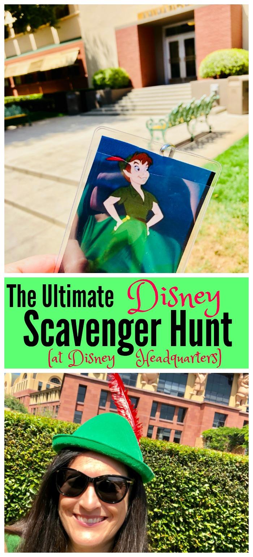 Ultimate Disney Scavenger Hunt at Disney Headquarters